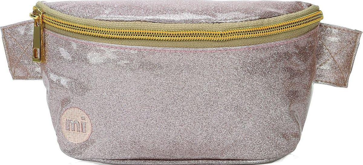 Сумка Mi-Pac Bum Bag Glitter, 742251-009, бежевый glitter glasses bag