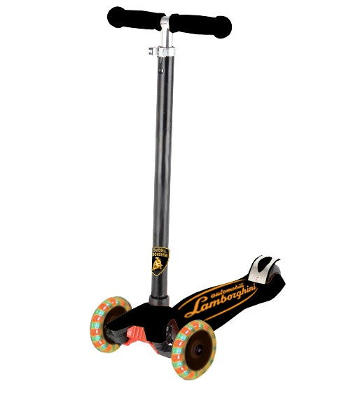 Самокат Джамбо тойс 912-LS9LE колеса для самоката надувные
