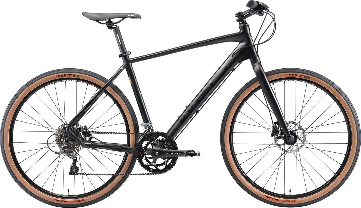 Велосипед горный Welt Horizon 2019, черный, диаметр колес 26