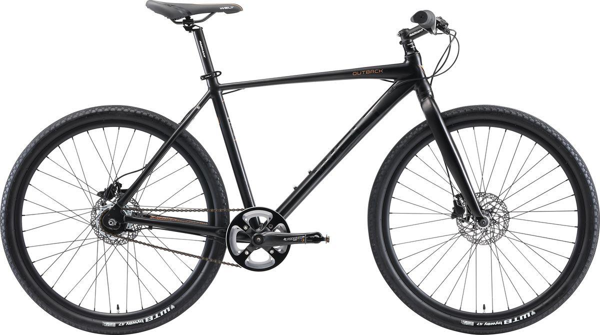 Фото - Велосипед горный Welt Outback 2019, черный, диаметр колес 26 велосипед welt outback 2018