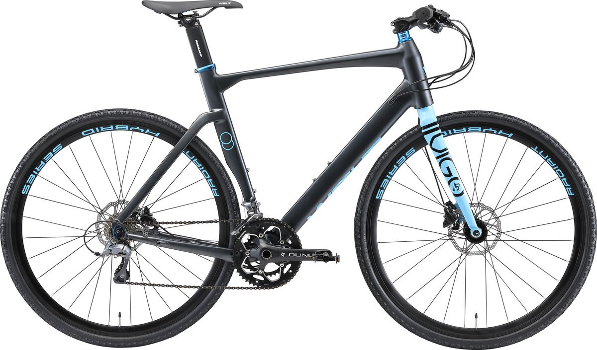 Велосипед шоссейный Welt Vigo 2019, серый, синий