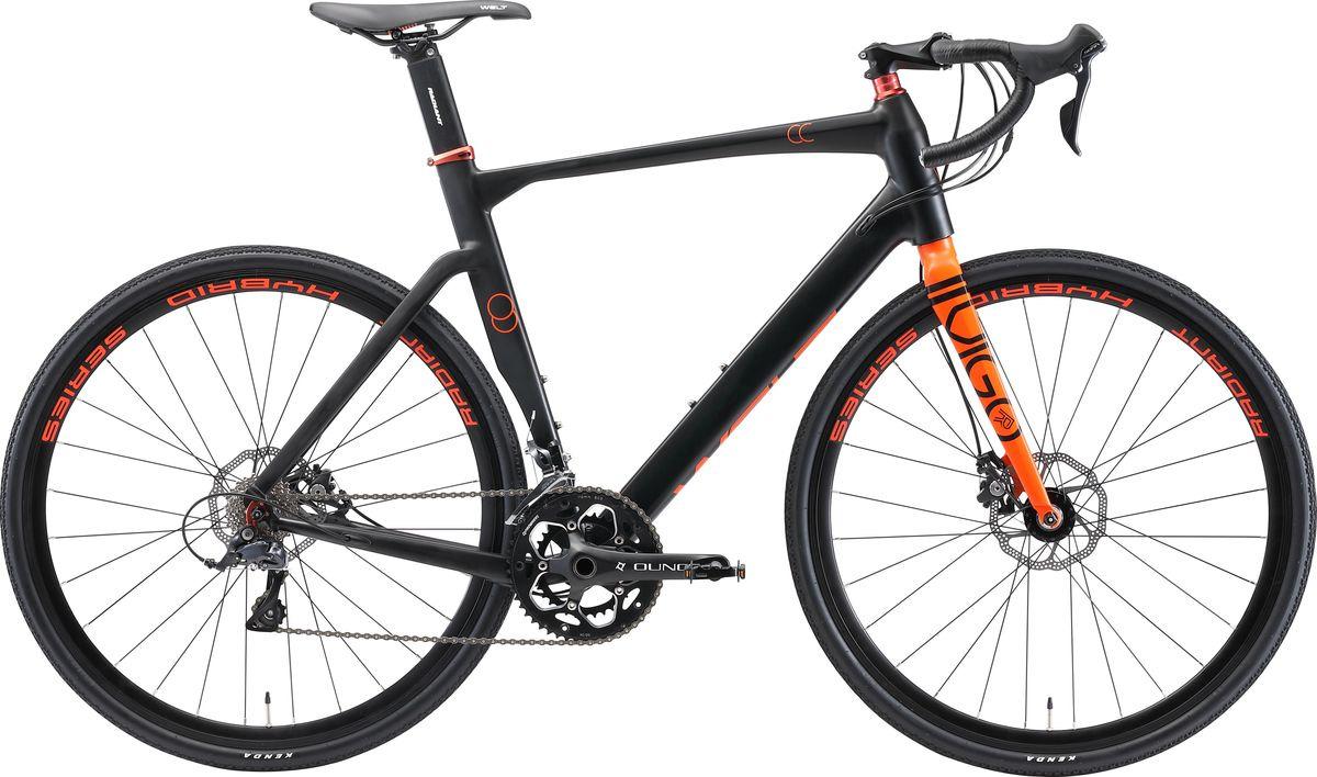 Велосипед шоссейный Welt Vigo CC 2019, серый, оранжевый