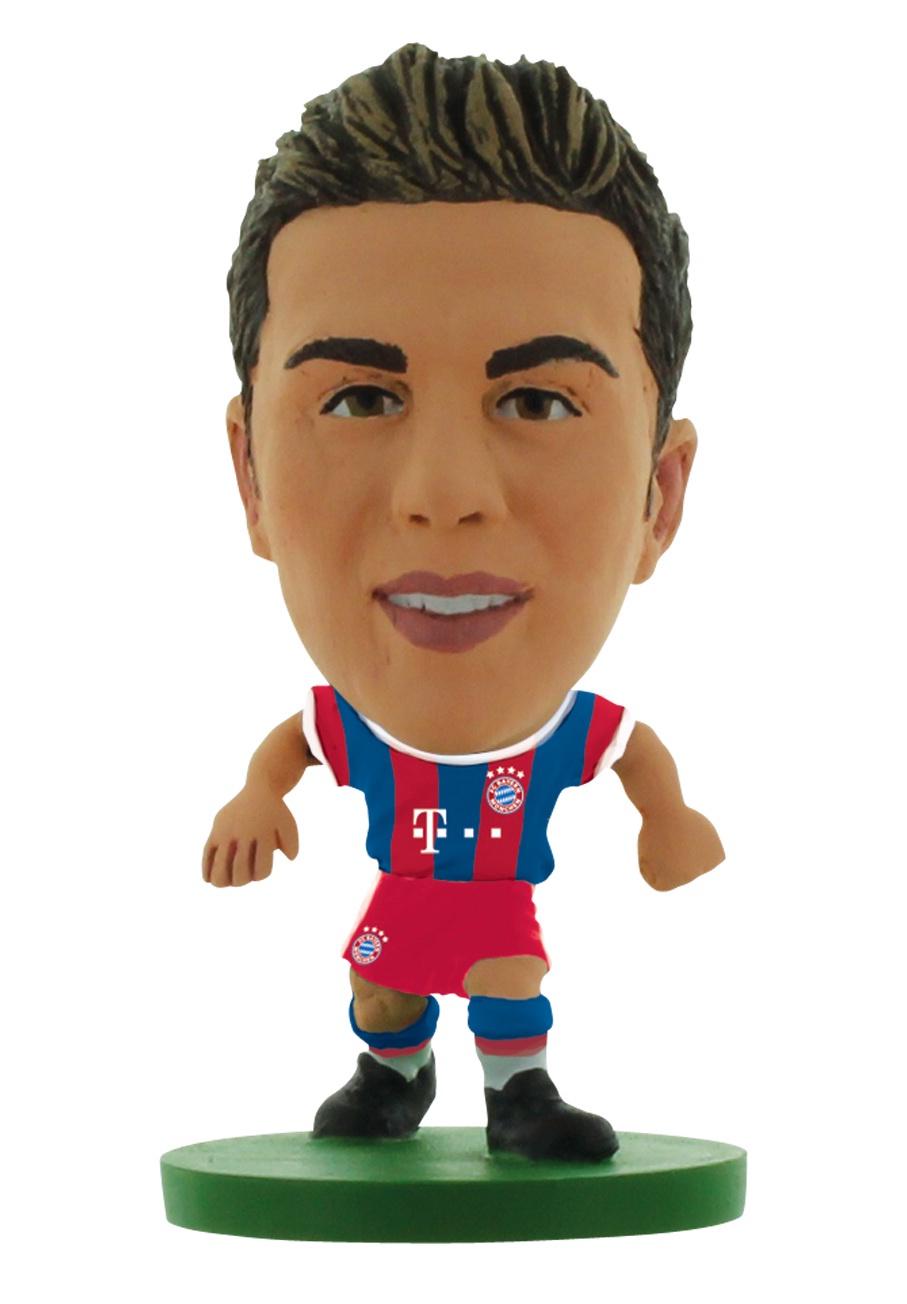 Фигурка Soccerstarz футболиста ФК Бавария Мюнхен Bayern Munich Mario Gotze Home V-2015, 400720 amiibo super mario фигурка пич