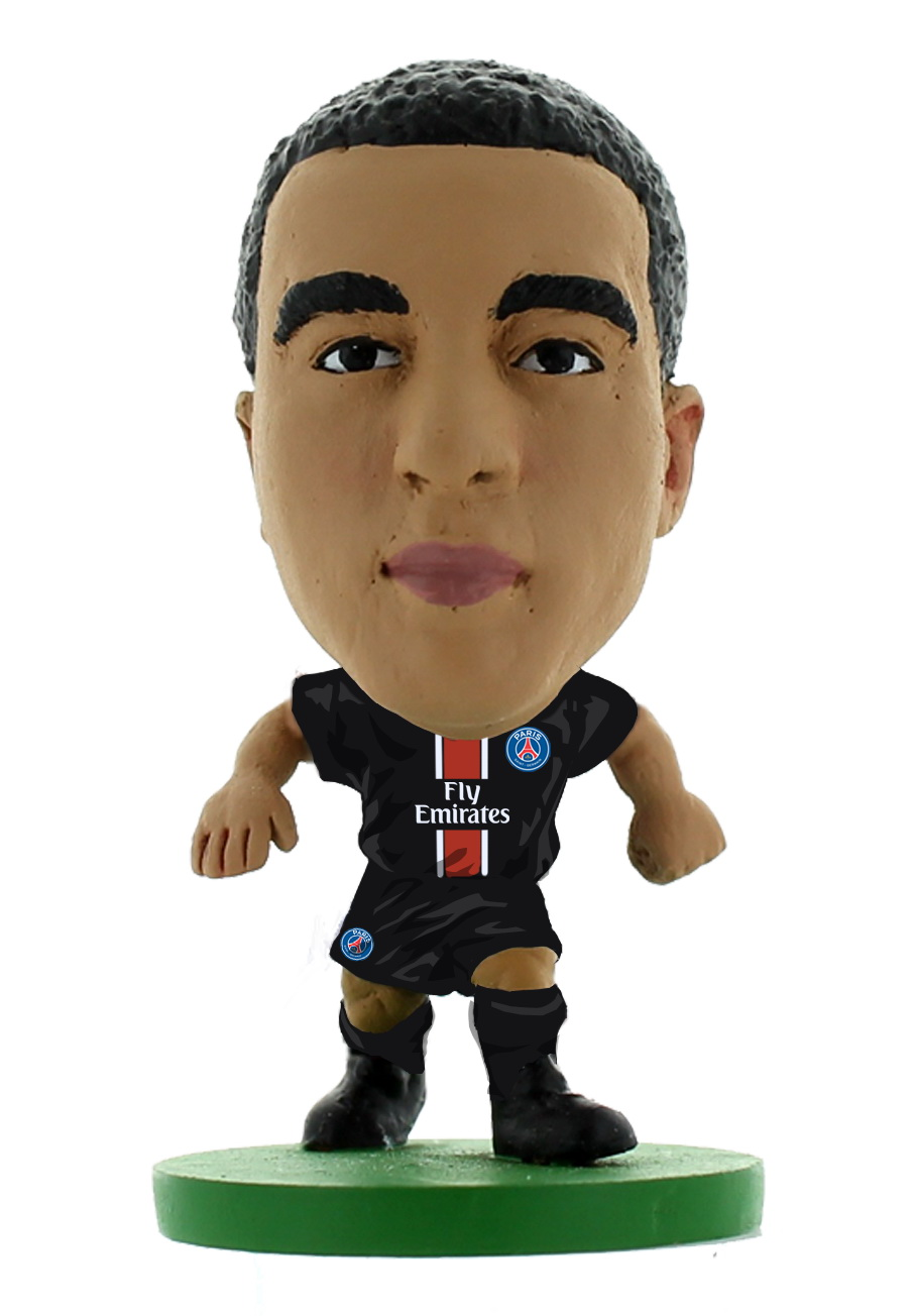 Фигурка Soccerstarz футболиста ФК ПСЖ Paris St Germain Lucas Moura Home V-2017, 401598