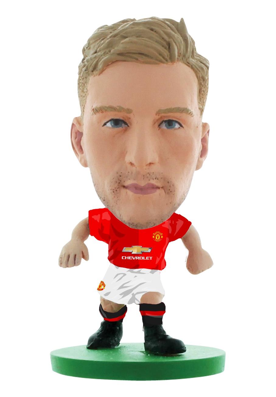 цена на Фигурка Soccerstarz футболиста ФК Манчестер Юнайтед Man Utd Luke Shaw Home V-2017, 403087