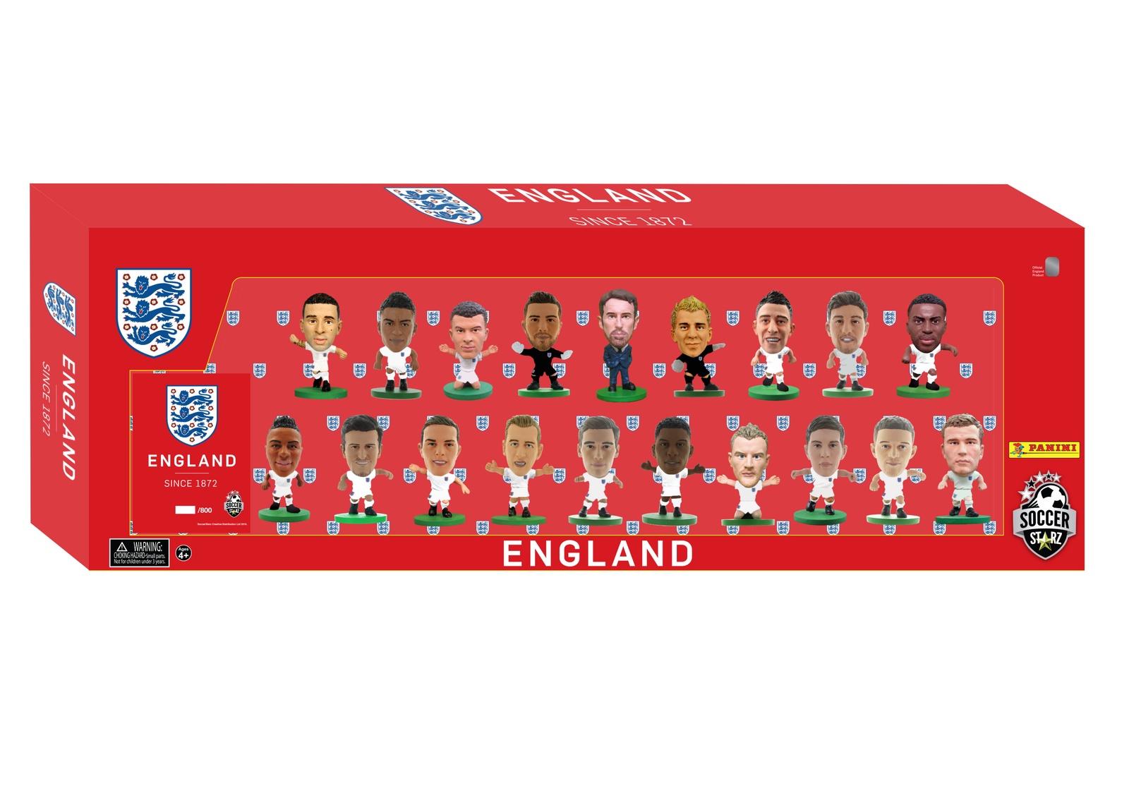 Фигурка Soccerstarz Набор футболистов Сборная Англии England Team Pack 19 players 2018 Ed., 404464 цена в Москве и Питере