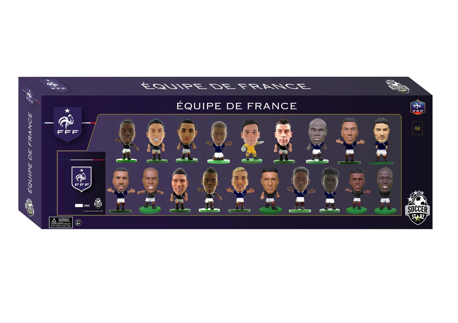 Фигурка Soccerstarz Набор футболистов Сборная Франции France Team Pack 19 players 2018, 404465 цена в Москве и Питере