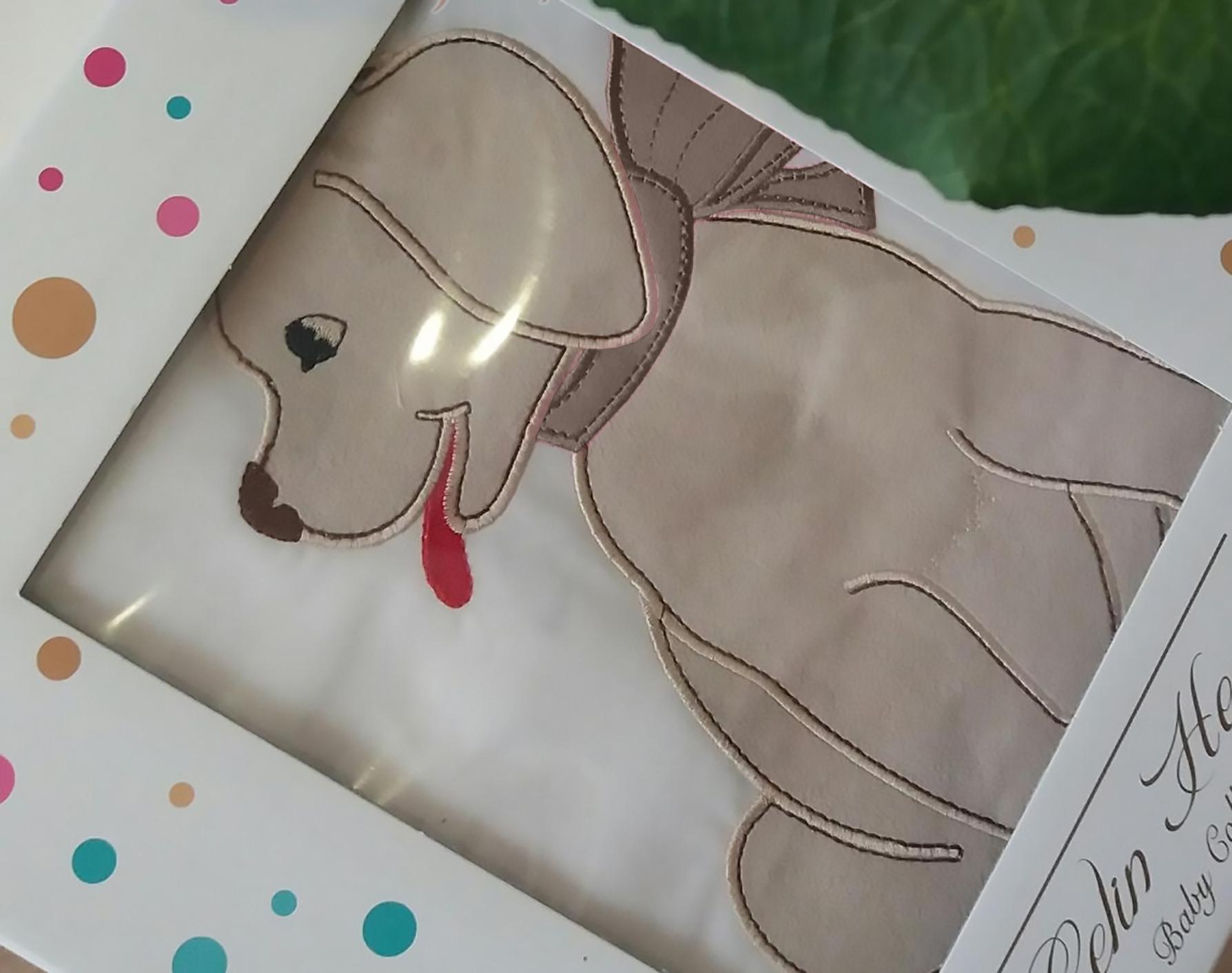 Комплект белья для новорожденных Gelin home DOGGY, бежевый, бежевый