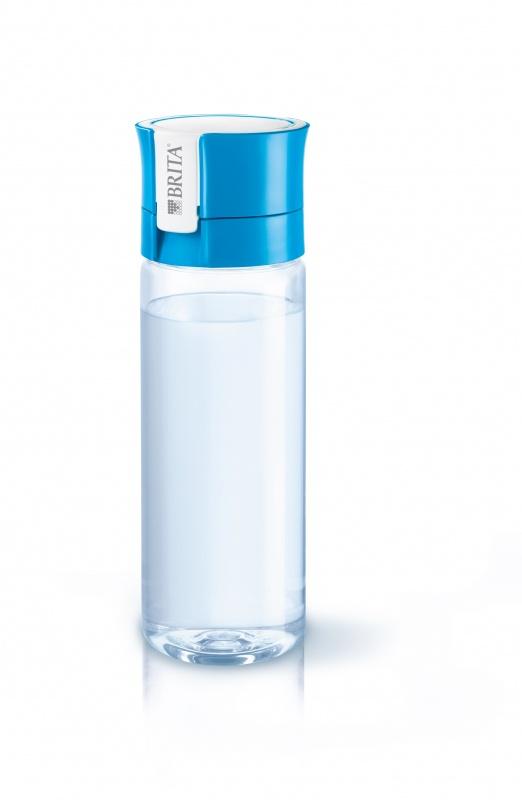 Фильтр переносной BRITA Фильтр-бутылка Филл-энд-гоу Вайтал голубая, голубой