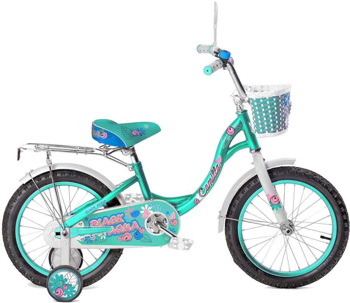 Велосипед детский Black Aqua Camilla, KG2017, колесо 20, бирюзовый цена