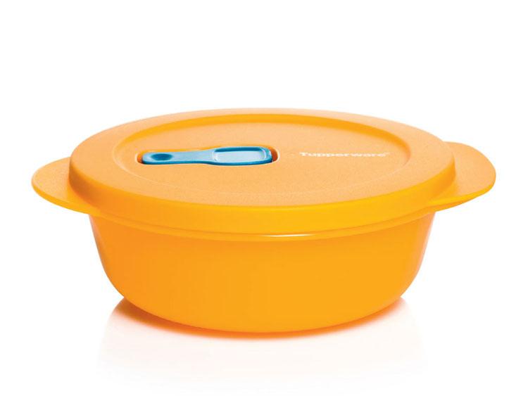Тарелка для СВЧ Tupperware НВ057, оранжевый Tupperware
