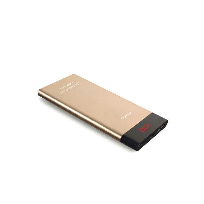 Фото - Внешний аккумулятор Pisen TS-D202, золотой внешний аккумулятор pisen ts d186 белый