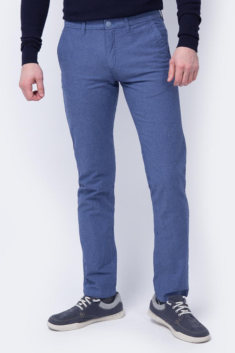 Брюки oodji Lab брюки мужские oodji lab цвет темно синий голубой 2l150131m 47756n 7970o размер 46 54 182