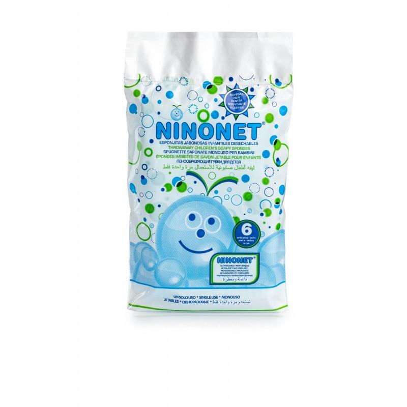 Ninonet пенообразующие губки для детей