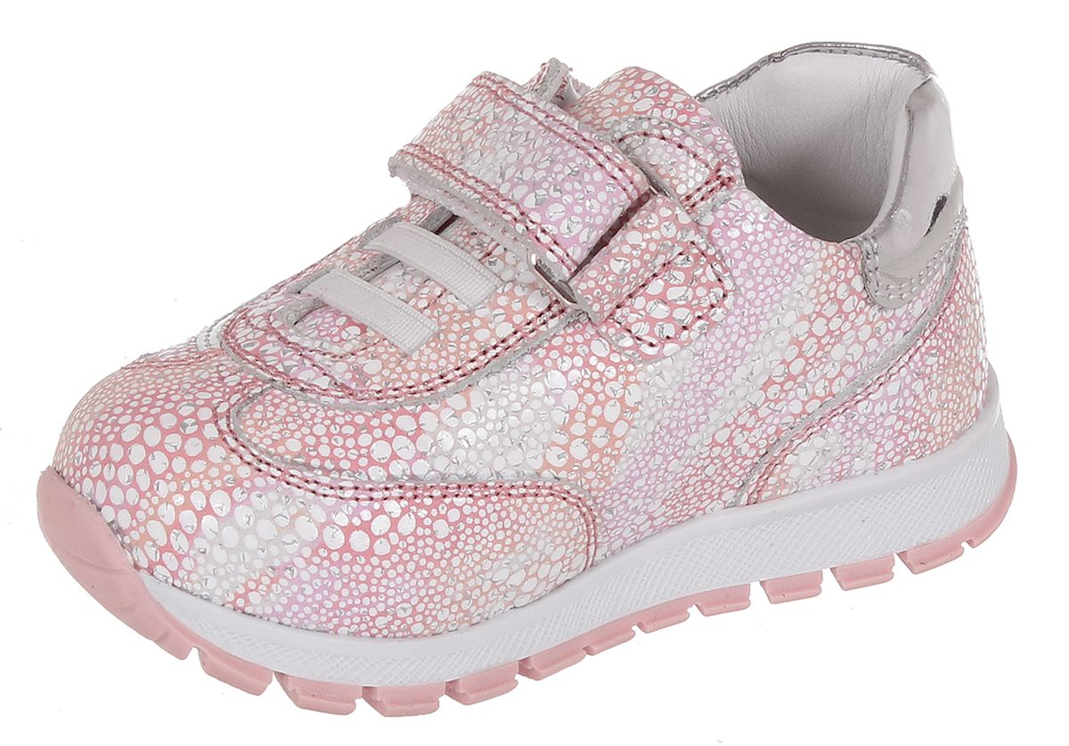 Полуботинки для девочки Tiflani, цвет: розовый. 18B A-8011/370-109. Размер 2518B A-8011/370-109