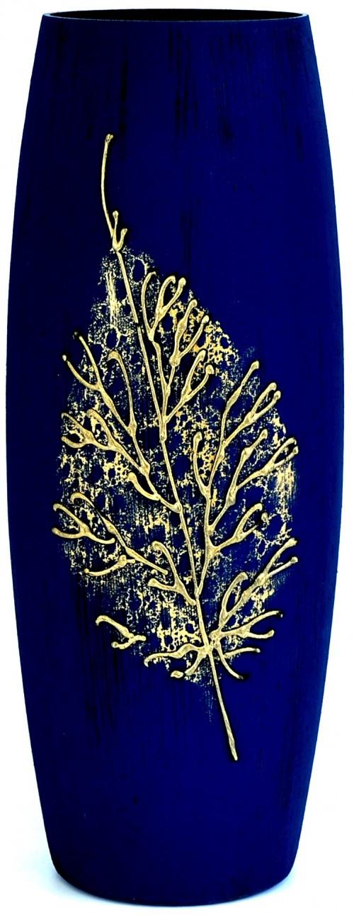Ваза Яркий штрих sh161.1, темно-синий