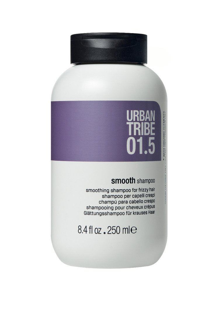 Шампунь для волос URBAN TRIBE 01.5 Shampoo Smooth шампунь тсубаки smooth