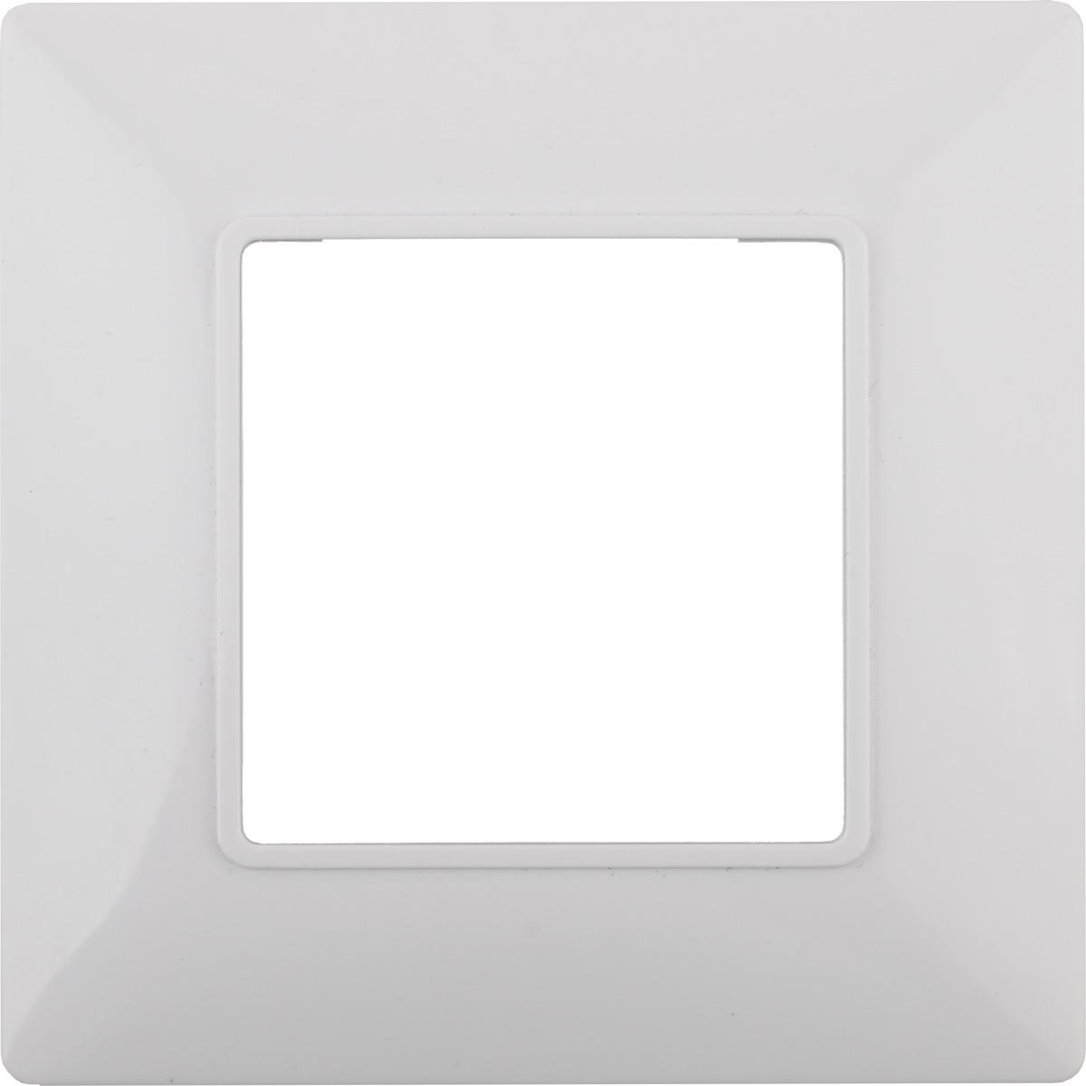 цена на Рамка электроустановочная ЭРА Elegance, на 1 пост, 14-5001-01, белый