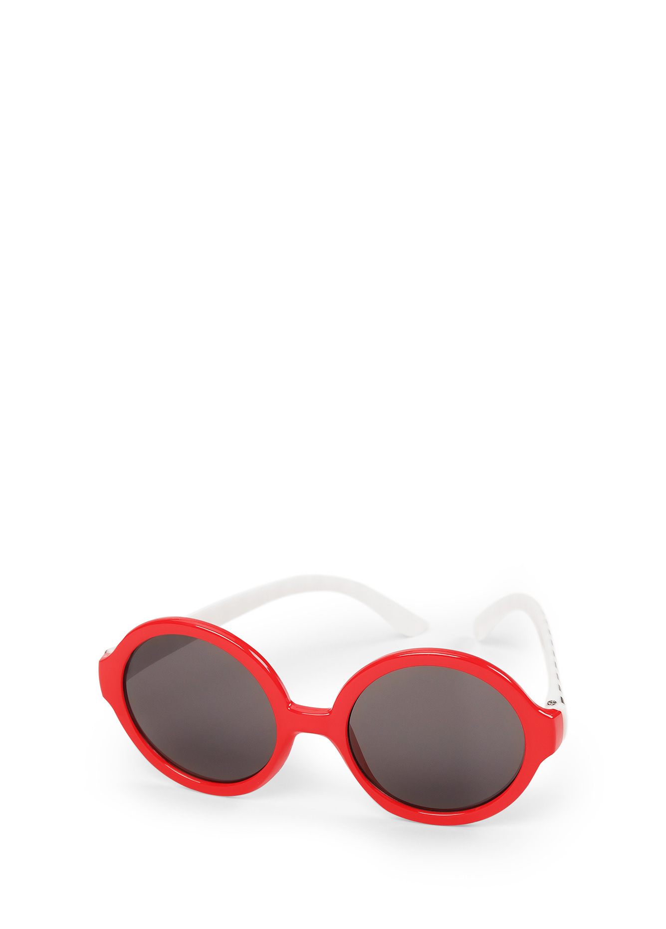 Очки солнцезащитные Happy Baby 5055050550 redСолнцезащитные очки HBтм в круглой оправе – идеальный аксессуар для лета. Изящные розовые будут здорово смотреться на малыше и сделают модным любой его образ. Качество очков соответствует всем требованиям для обеспечения безопасности ребенка. Линзы имеют показатель UV400, что означает максимальную защиту от ультрафиолетового излучения любого диапазона.