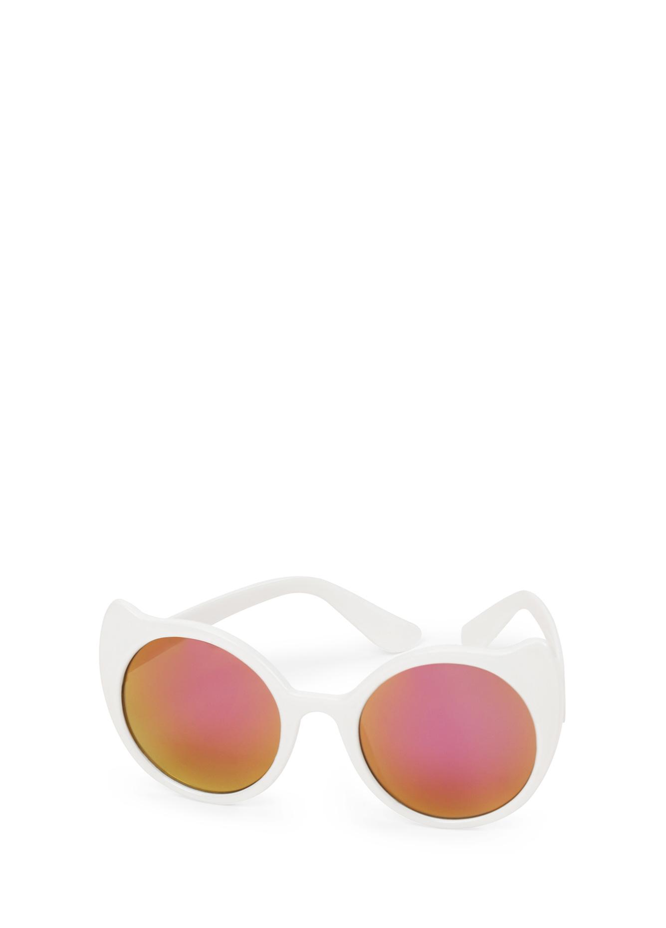 Очки солнцезащитные Happy Baby 50552, белый