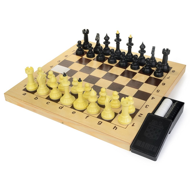 Набор настольных игр Владспортпром vl03-011 набор настольных игр madon шахматы шашки кинг 34