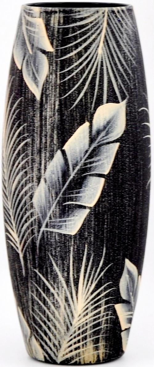 Ваза Яркий штрих sh114.1, коричневый