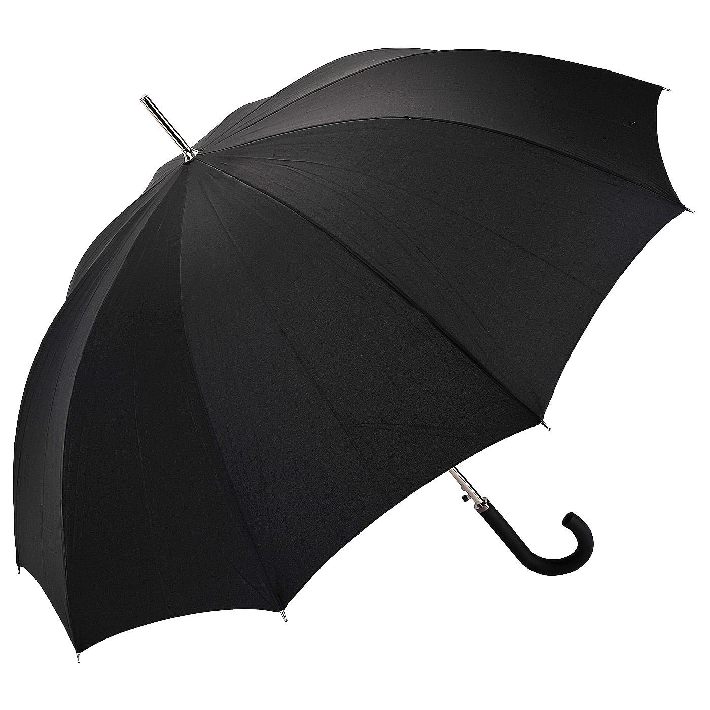Зонт Doppler Carbonsteel Lang, черный зонт трость женский doppler цвет красный 714765l