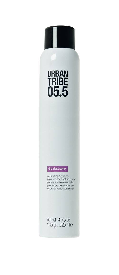 Спрей для укладки волос URBAN TRIBE 05.5 Dry Dust Spray53361Пудра для придания объема 05.5 Dry Dust SprayПродукт двойного действия, помогающий быстро удалить излишки себума с волос и придать им фантастический объем.