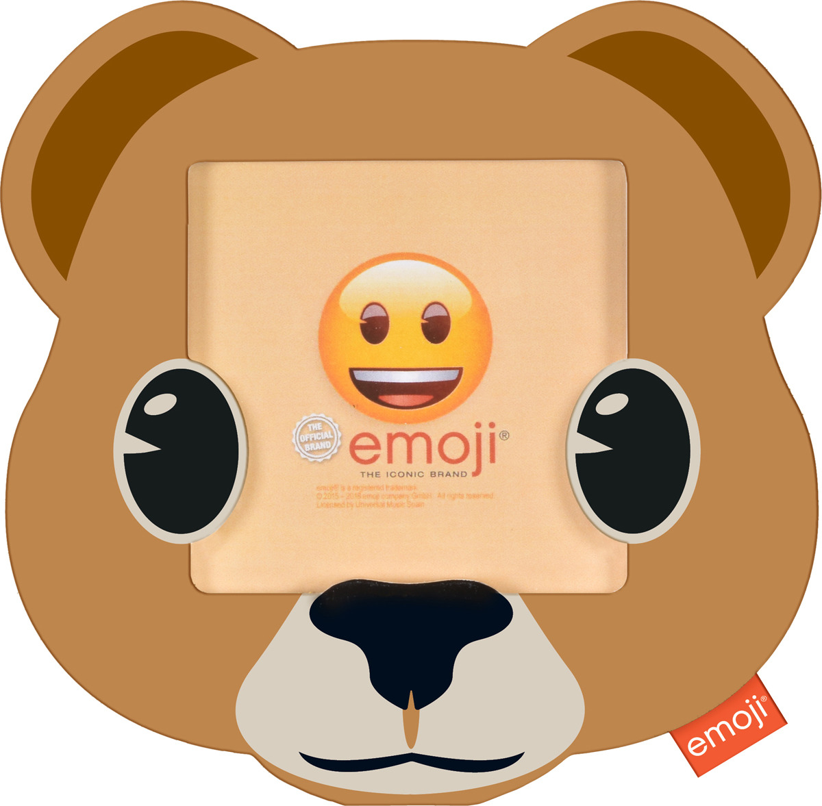 Фоторамка Innova Emoji Bear, 10 х 10 см