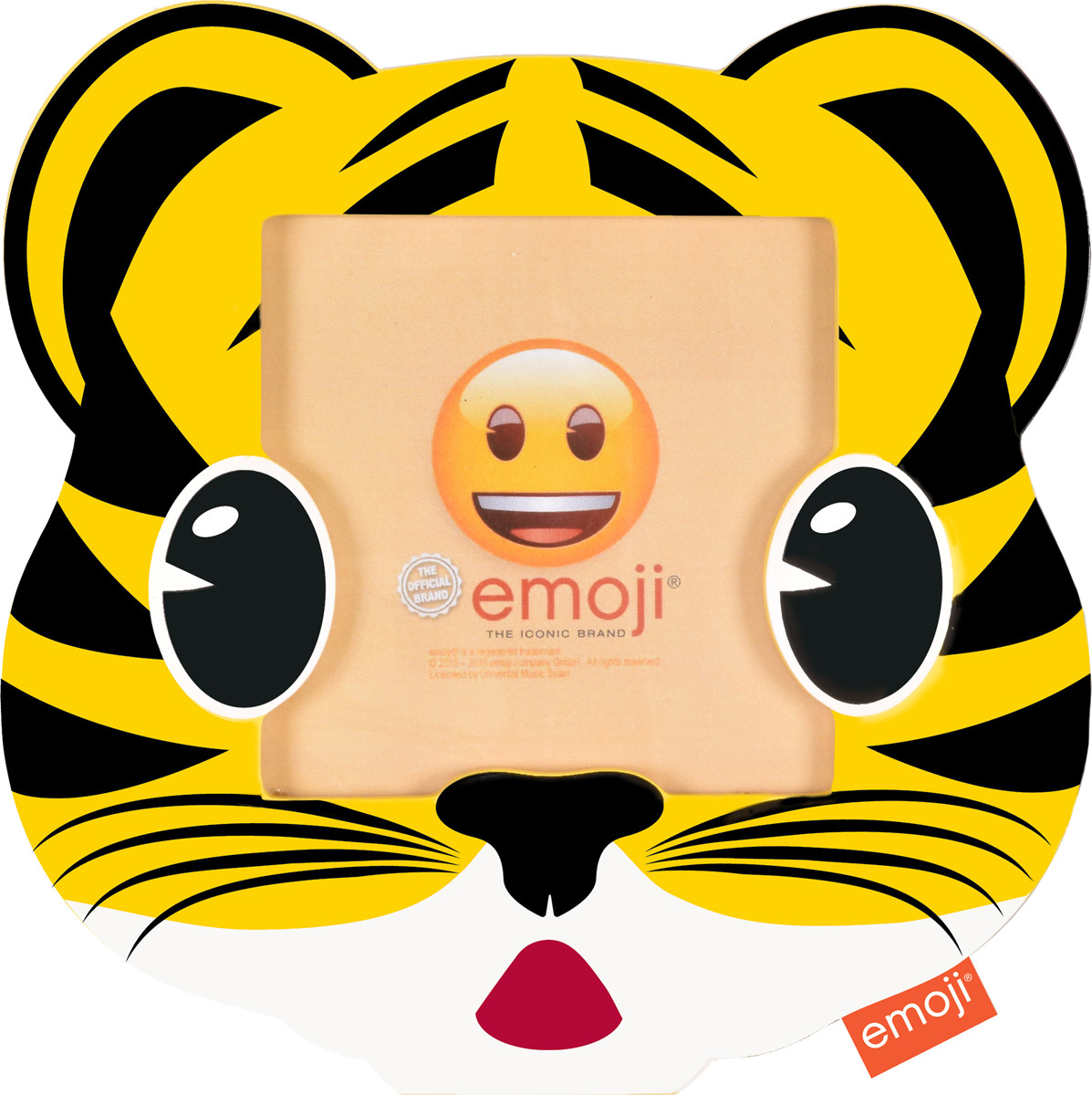 Фоторамка Innova Emoji Tiger, 10 х 10 см