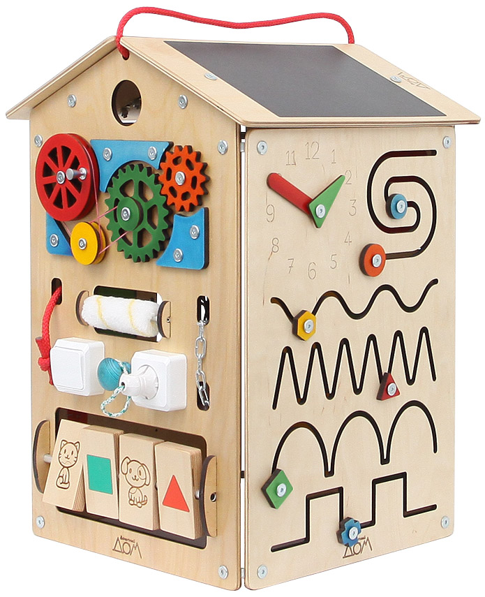 Бизиборд Занятный Дом Т010 цены