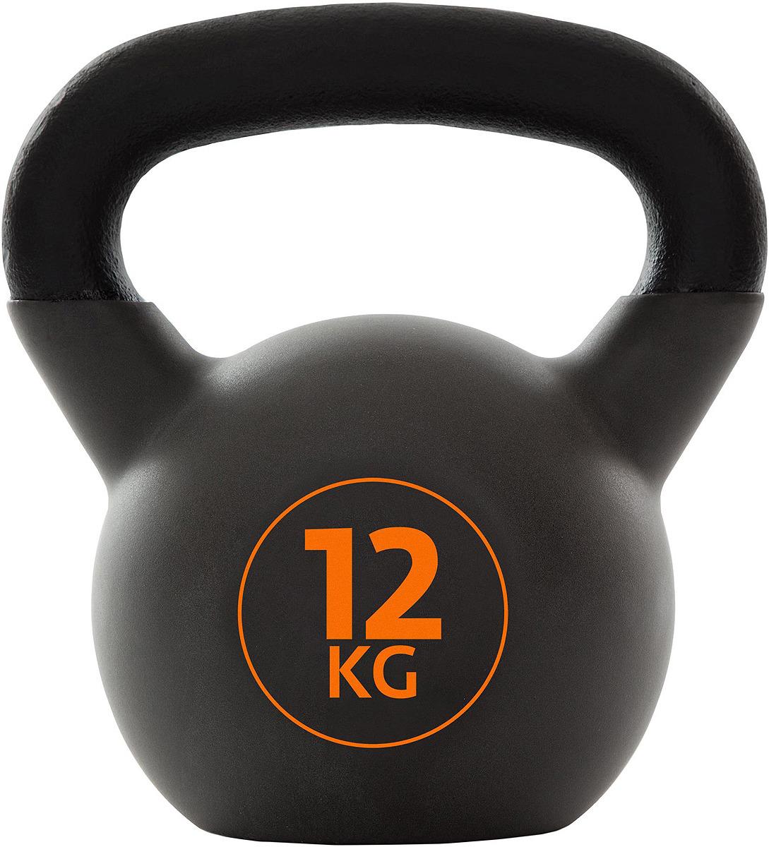 Гиря Torneo Kettlebell, 12 кг гиря iron head медведь 32 0 кг
