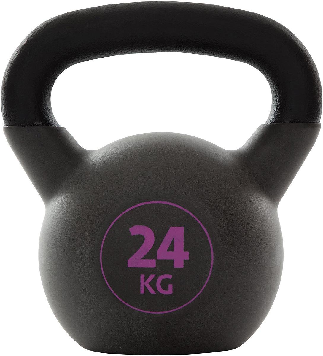 Гиря Torneo Kettlebell, 24 кг гиря iron head медведь 32 0 кг