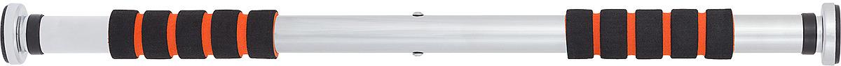 Турник дверной Torneo, A-921, 61-89 см, серебристый турник раздвижной спорт 76 цвет хром 100 120 см