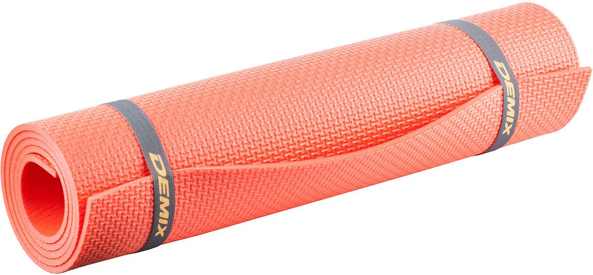 Коврик для фитнеса Demix Fitness Mat, коралловый Demix