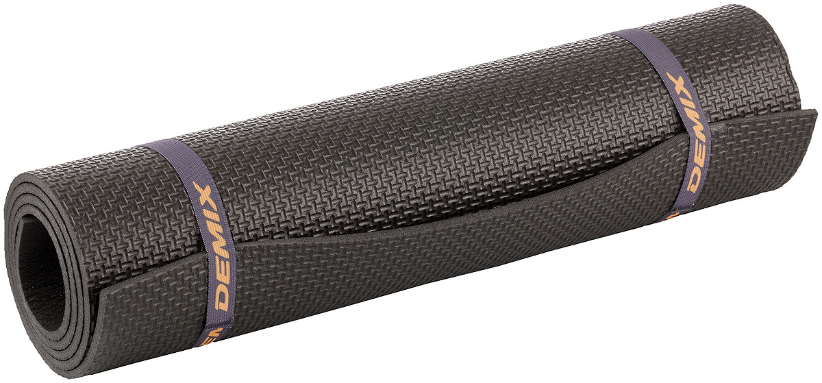 Коврик для фитнеса Demix Fitness Mat, черный Demix