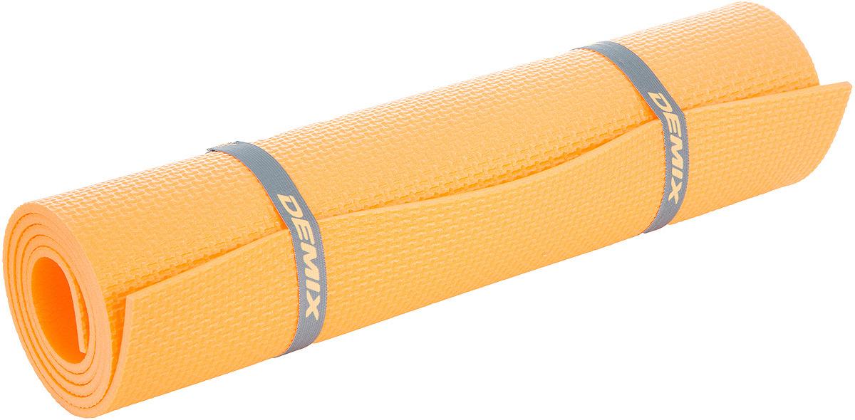 Коврик для фитнеса Demix Fitness Mat, оранжевый Demix