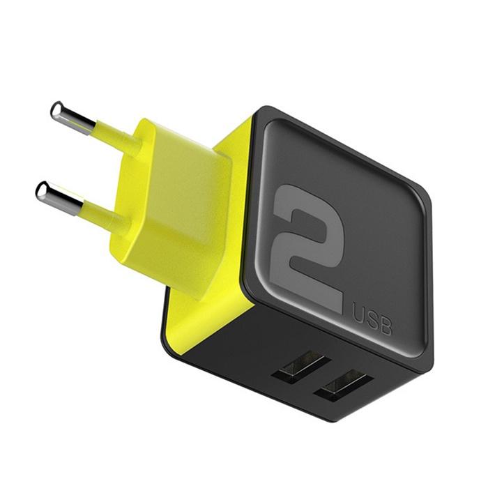 Фото - Автомобильное зарядное устройство ROCK-014B зарядное устройство usbepower rock коралловый