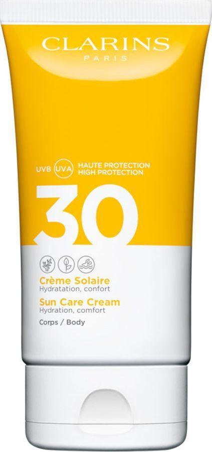 Солнцезащитный крем для тела Clarins Creme Solaire Corps, SPF 30, 150 мл
