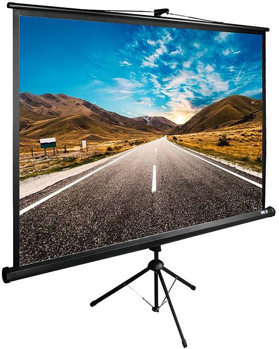 Проекционный экран Cactus TriExpert CS-PSTE-160x160-BK 1:1, напольный, рулонный, черный гироскутер cactus cs gyrocycle suv2 bk yl 10 5 черный желтый