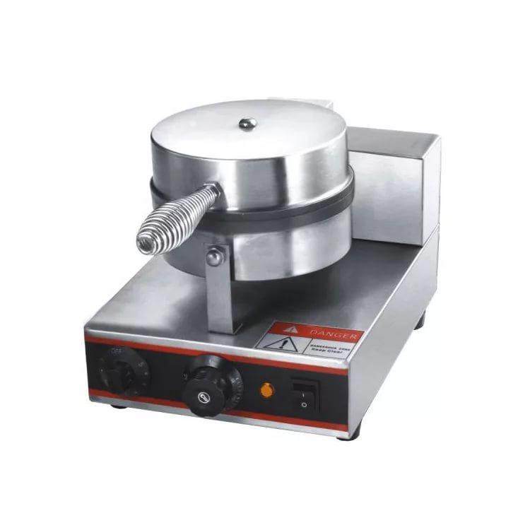 Вафельница Foodatlas UWB-1 Eco, серый металлик