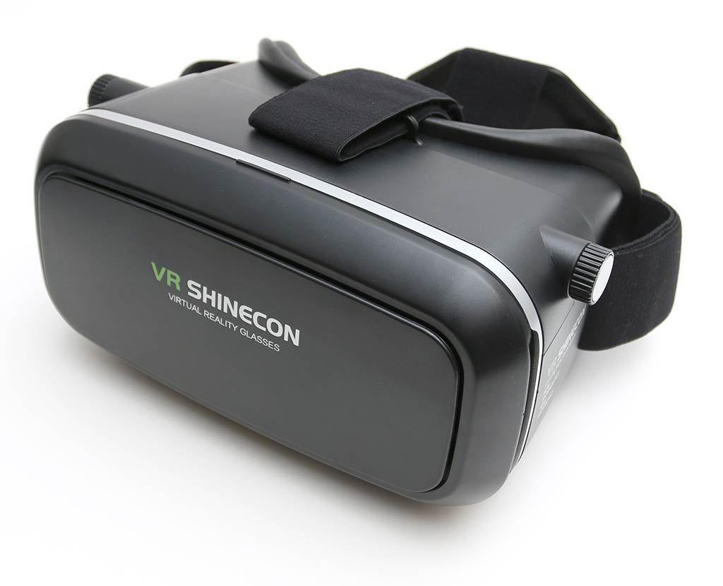 Очки виртуальной реальноcти для смартфонов ZUP VR SHINECON 2.0, черный vr 3d очки виртуальной реальности smarterra vr bt контроллер для смартфонов белый