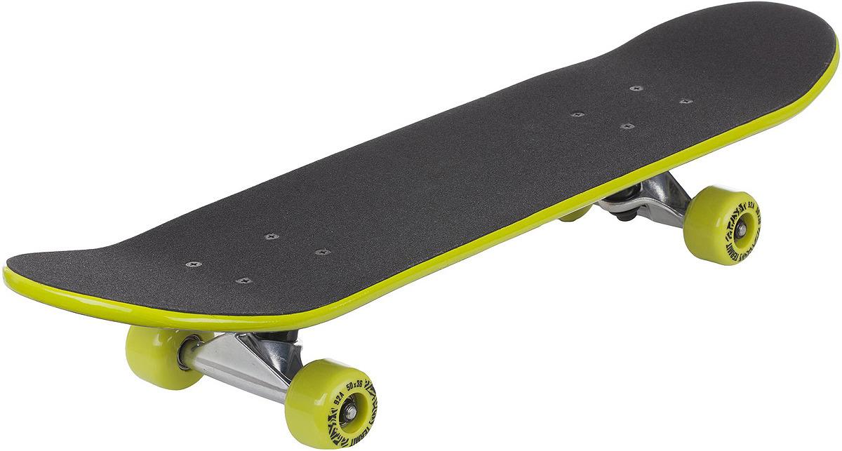 Скейтборд детский Termit 218, S17ETESB008-MX, светло-зеленый, синий, оранжевый скейтборд immortal 31 х8 abec 3