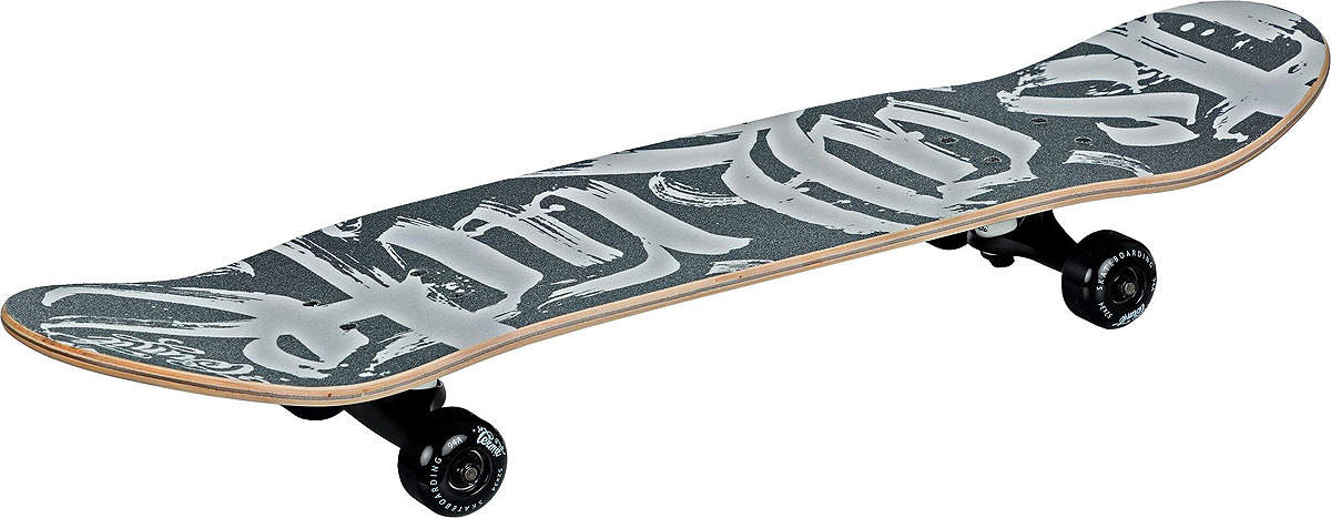 Скейтборд Termit 518, S18ETESB007-BW, черный, белый скейтборд nasvay