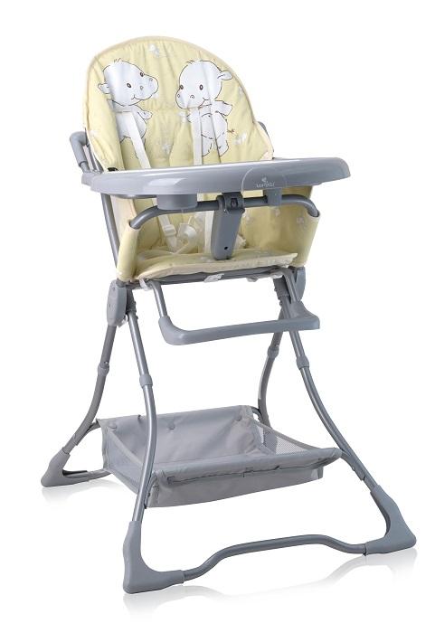Стульчик для кормления Lorelli Bonbon Желтый / Yellow Happy Hippo стульчик для кормления lorelli