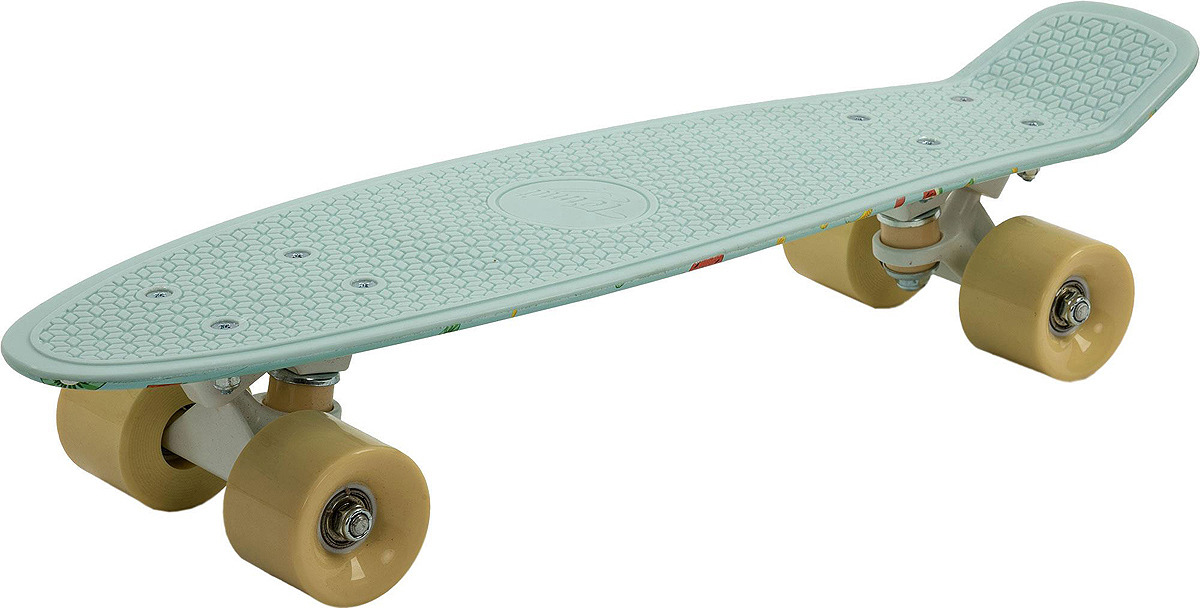 Круизер Termit, S19ETESB006-MX, светло-зеленый скейт мини круизер quiksilver lanai citron fluro yellow 6 5 x 26 66 см