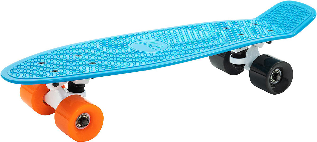 Круизер Termit Transparent, S19ETESB014-Z2, синий, черный, оранжевый скейт мини круизер quiksilver lanai citron fluro yellow 6 5 x 26 66 см
