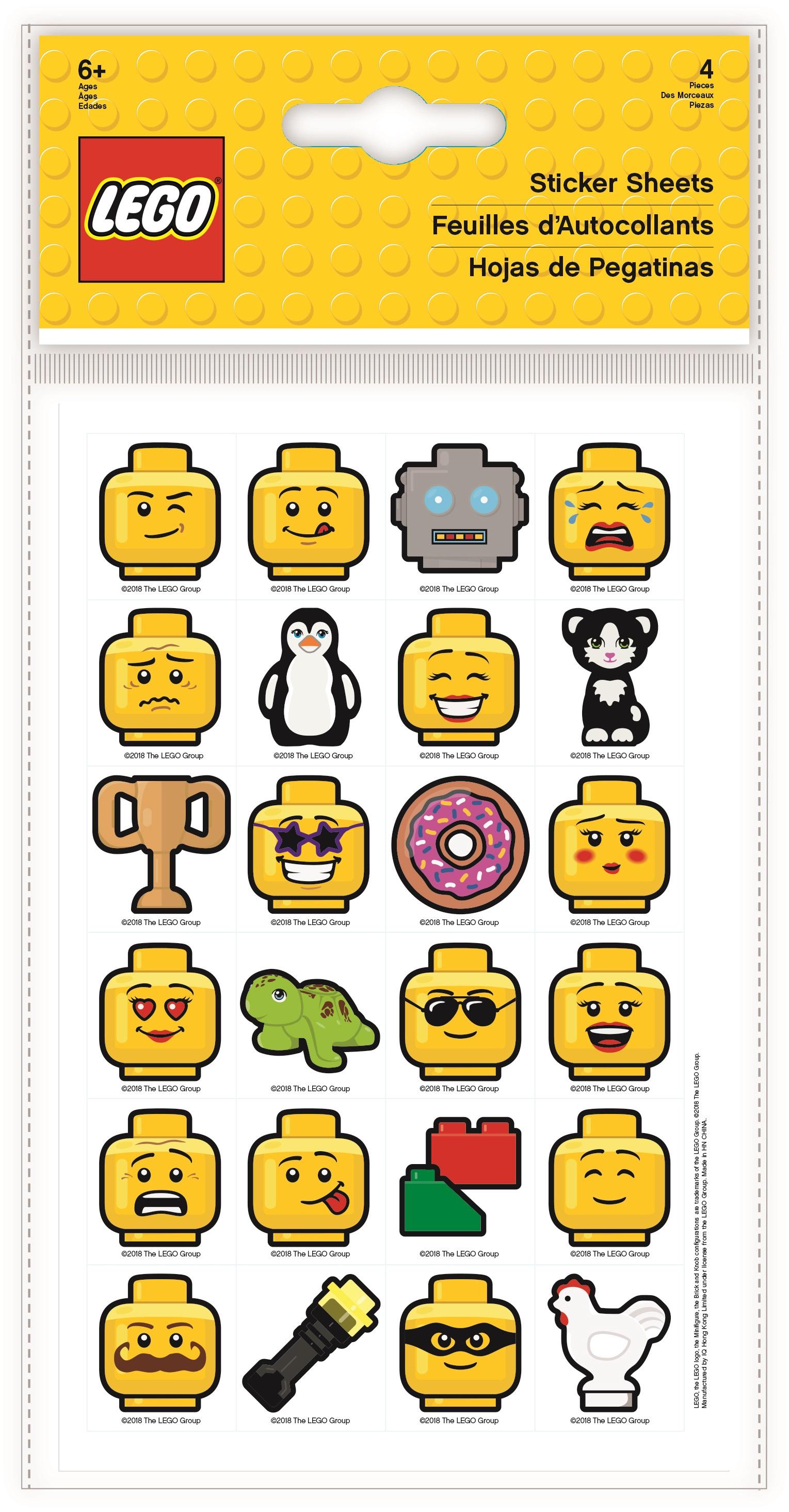 Набор наклеек LEGO Iconic