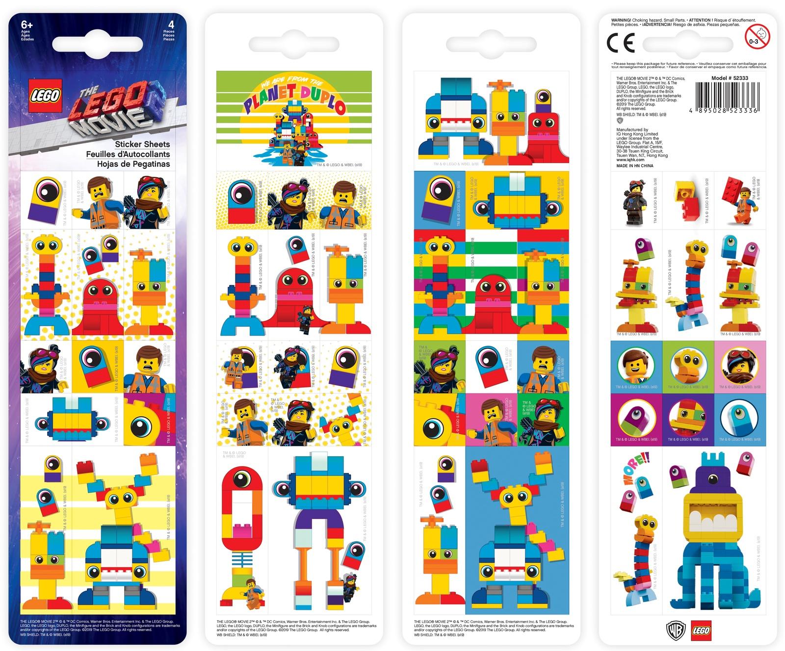 Набор наклеек LEGO Movie (Муви) LEGO