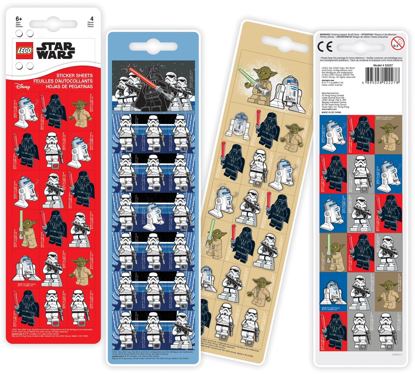 Набор наклеек LEGO Star Wars (Звёздные Войны)